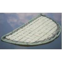 Tappetto galleggiante semicerchio 121cm